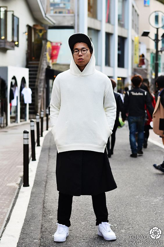 Photos of fashionable japanese boys and men