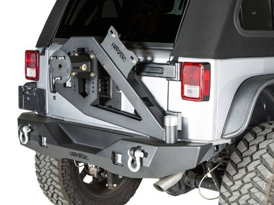 43 20202 Havoc Offroad Gen 2 Aftershock Rear Bumper With Hinged