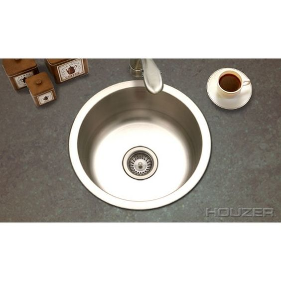 Houzer Hospitality Round Prep Sink