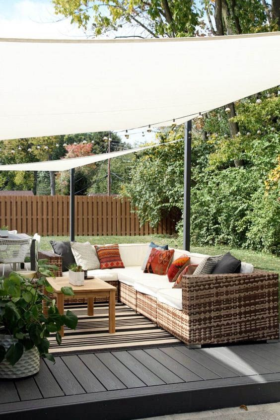 Shelter Ideas For Your Outdoor Space Backyard Shade Backyard
