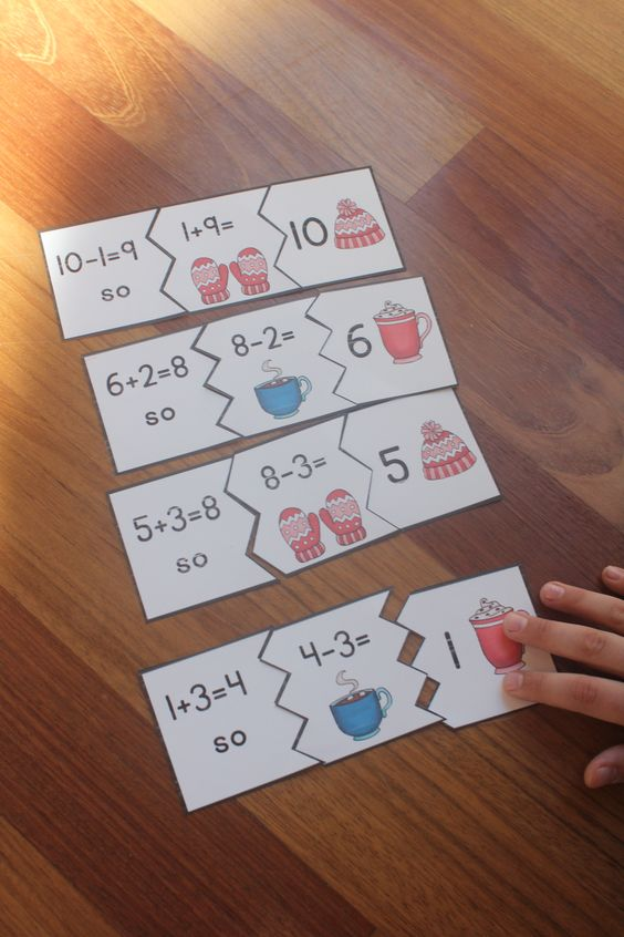 Use fact families to solve related math facts - perfect for math centers