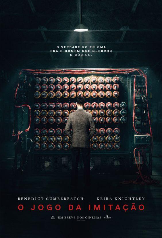 Um filme de Morten Tyldum com Benedict Cumberbatch, Keira Knightley : Durante a Segunda Guerra Mundial, o governo britânico monta uma equipe que tem por objetivo quebrar o Enigma, o famoso código que os alemães usam para enviar mensagens aos submarinos. Um de seus integrantes é Alan Turing (Benedict Cumberbatch), um...:
