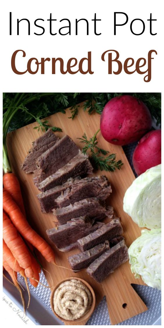 how to cook brisket in instant pot