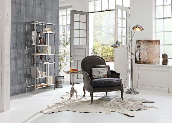 Industriestil gemixt mit französischer Eleganz im Loft #loberon