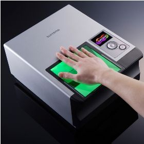 In what James Bond movie is biometric scanning (fingerprint, hand, iris scanners, etc.) first used?