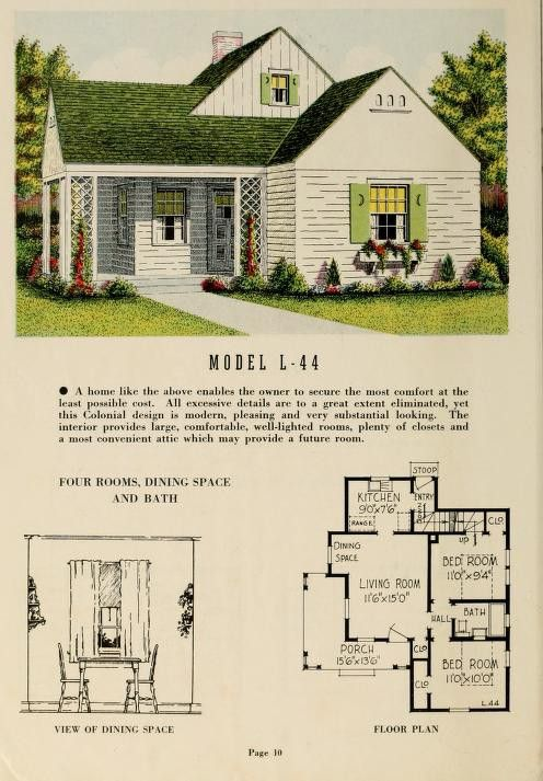 Pin By David Carr On Homes Vintage House Plans Dream Cottage Narrow House