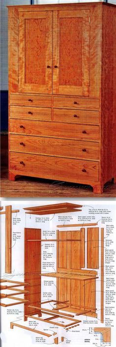 Shaker Cupboard Plans - Furniture Plans and Projects   WoodArchivist.com