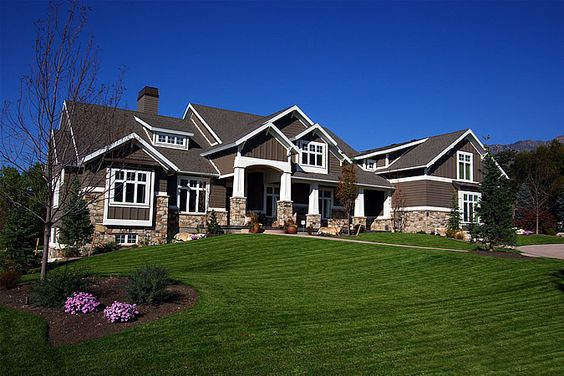Love this house home sweet home pinterest craftsman for American house exterior design