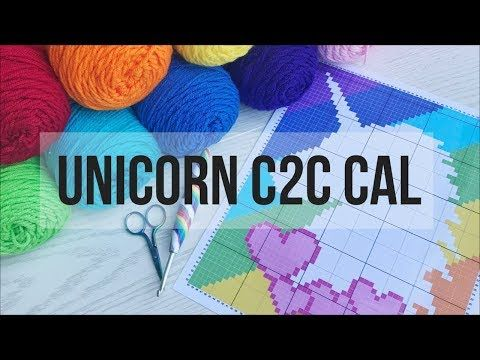 Heartsprinkle Cal C2c Unicorn Blanket Youtube With Images
