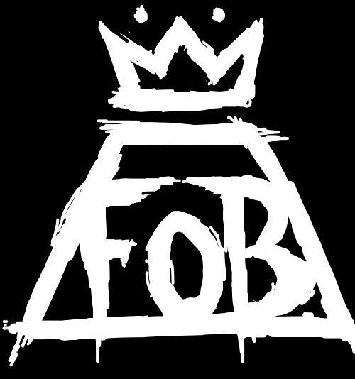 fob logo fall out boy fob diy pinterest logos the