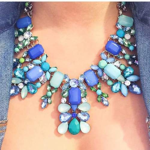 accessoires, jewelry, and blue Bild