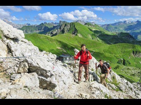 """Allgäuer Alpen (Trailer) """"Drei der schönsten Höhenwege"""" freue dich auf die nun komemnde farbenfrohe Herbstzeit"""