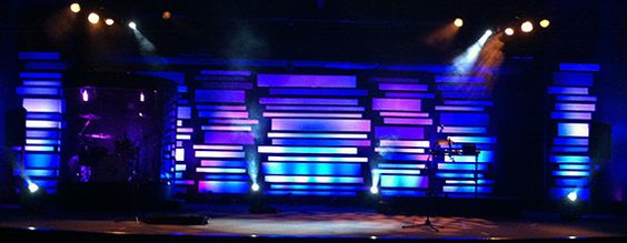 Mismatched | Church Stage Design Ideas