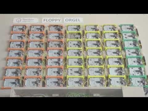 Die Floppy-Disk Orgel! - Toolbox-Bodensee e.V. - YouTube
