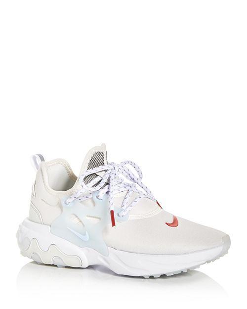 Nike Women's React Presto Low-Top Sneakers Shoes ...