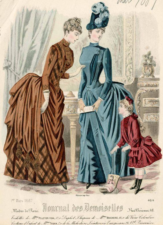 Journal des Demoiselles 1887