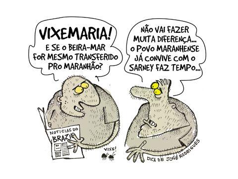 Beira Mar e o Maranhão...