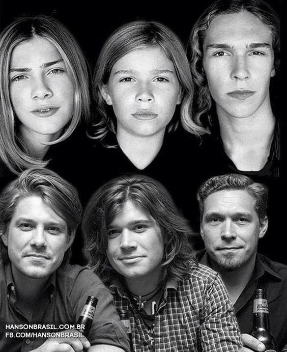 Hanson then and now: