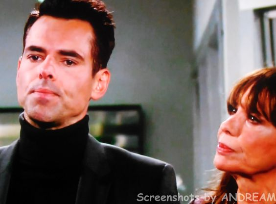 Jill tells Billy that she feels that Travis is somehow lying to Victoria.