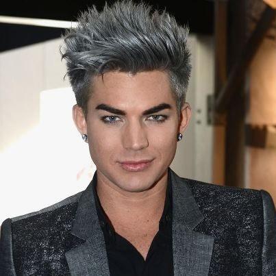 silver hair love adam lambert adam lambert