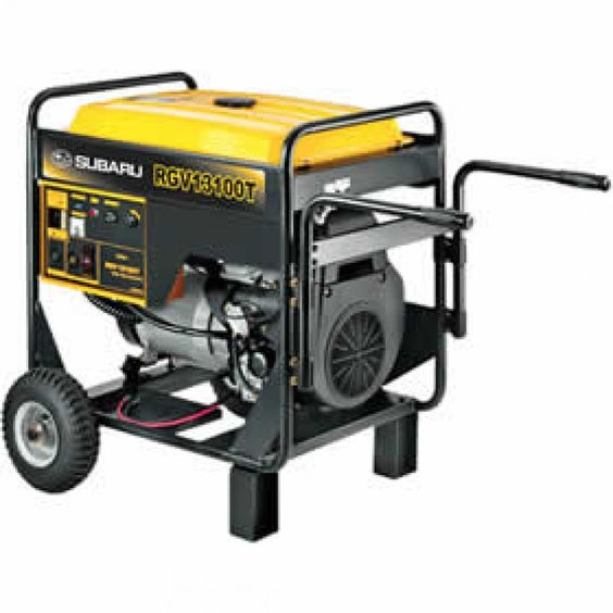 The 10,000 Watt Electric Start #Generator is designed for tough, rugged duty applications. Easy start with a touch of a button, very quiet, dual capacitor voltage regulator system for high surge capacity. #TentAndTable #PartyRentals http://tentandtable.net/10-000-watt-electric-start-generator