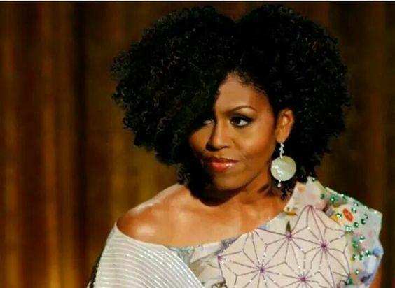 Michelle Obama hair is soooo fly!