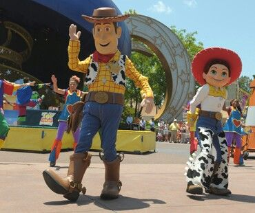 Jessie and woody