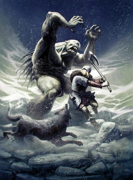 Giant norse mythology - photo#4