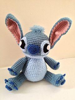 Stitch Amigurumi - free pattern from Ravelry