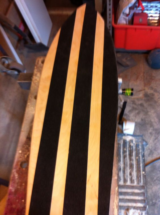 My first homemade longboard