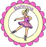 Ballerina Medaille