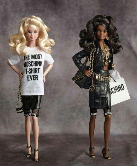 Moschino #Barbie