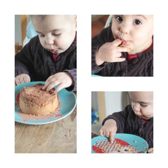 Smash Cake (vegan) pour bébé bio... Qu'on se le dise, le premier gâteau de bébé doit être sain et gourmand ! Mais aussi un beau terrain d'expérimentation !!