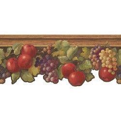 HA1313B Border Book Fruit & Ivy Border