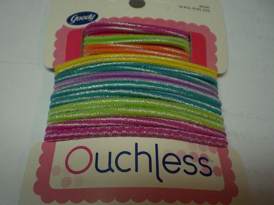 Goody Ouchless 10912 Non Metal Elastics 30pcs