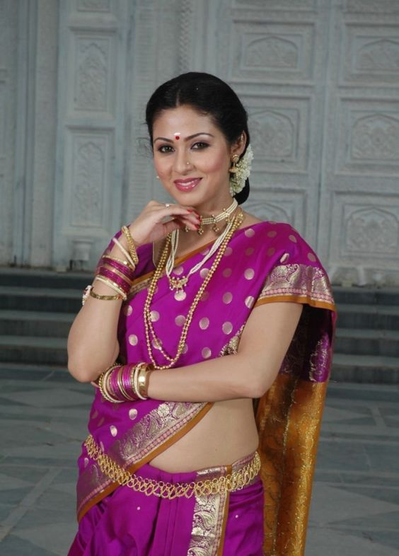 Sadha in Saree Cute Images
