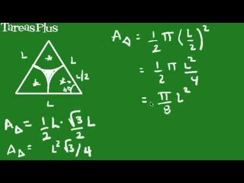 Cálculo de un área sombreada 2