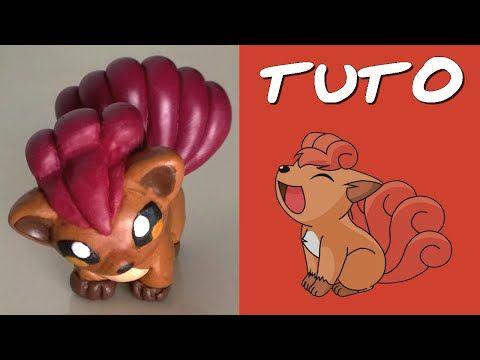 TUTO FIMO | Goupix / Vulpix (de Pokemon) - YouTube