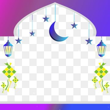 Beautiful Frame Lantern Islamic Eid Mubarak Idul Fitrit Ketupat Moon Stars Png Transparent Clipart Image And Psd File For Free Download Poster Background Design Islamic Background Vector Education Poster Design