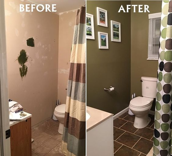 Small Bathroom Remodels Before And After Small Bathroom