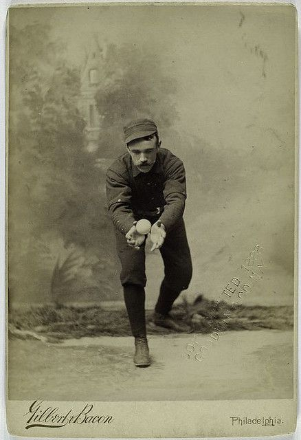 Posed Portraits of 19th Century Baseball Stars | The Public Domain Review