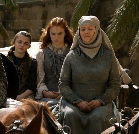 Sansa manches amovibles Port Réal