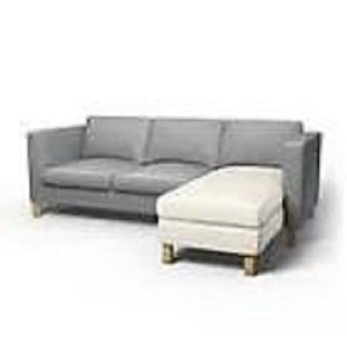 Modern Sectional Sofas NEW IKEA Karlanda Add On Unit Chaise Lounge Slipcover GOBO WHITE IKEA funiture chair and one half Pinterest Furniture slipcovers and Chaise