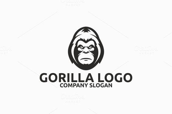 Gorilla Logo @creativework247