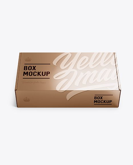Download Metallic Carton Box Mockup Front View High Angle Shot In Box Mockups On Yellow Images Object Mockups Box Mockup Mockup Free Psd Free Psd Mockups Templates