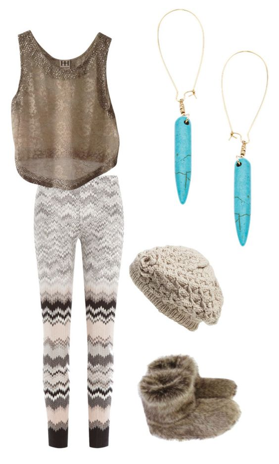 The Boho Girl's Casual Night In - NYE by goodgirlgoneshopping on Polyvore featuring polyvore, fashion, style, Missoni, Haute Hippie, Helen Moore, Skinny by Jessica Elliot and Nirvanna Designs