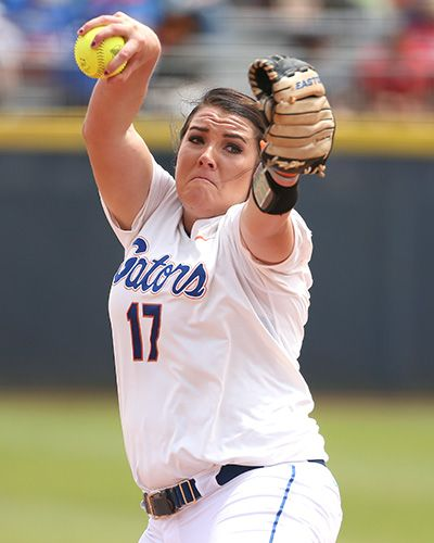 Senior Lauren Haeger allowed just one hit in seven innings in Friday's win against Tennessee. THURSDAY MAY 28, 2015 Player of the Year Haeger Lives Up to Her Billing