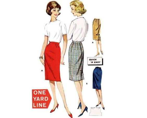 The one yard skirt. Ok, so for me it would be the 2 yard skirt, but I like the idea. Why not create your own style? Go for it!