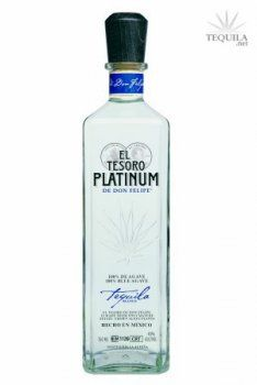 El Tesoro de Don Felipe Tequila Platinum - Tequila Reviews at TEQUILA.net