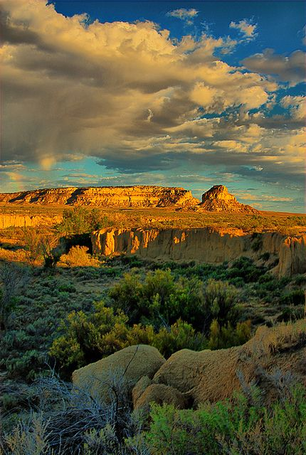 Fajada Butte, Chaco Canyon, New Mexico